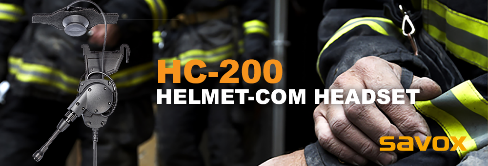 introducing Savox HC-200 Helmet-Com Headset